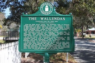 The Wallendas Marker-Side 2 image. Click for full size.
