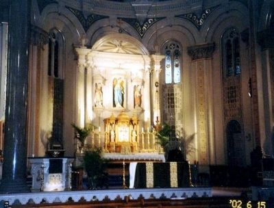 St. Mary's Church-Main Altar image. Click for full size.