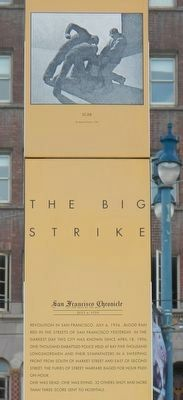 The Big Strike Marker (detail) image. Click for full size.