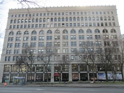 Ellicott Square Building - North Side image. Click for full size.