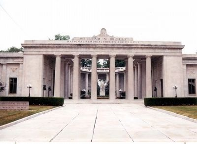William McKinley National Memorial image. Click for full size.