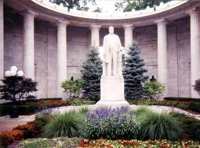 William McKinley Statue within the Memorial image. Click for full size.