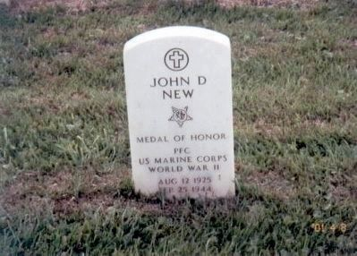 John Dury New - WW II Congressional Medal of Honor Recipient image. Click for full size.