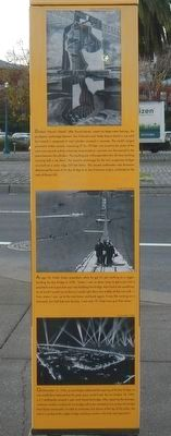 The Bay Bridge Marker image. Click for full size.