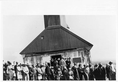 Fort Ross Marker Dedication image. Click for full size.