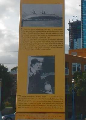 Beale Street Wharf Marker image. Click for full size.