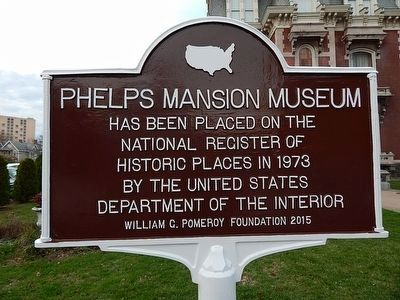 Phelps Mansion Museum Marker image. Click for full size.