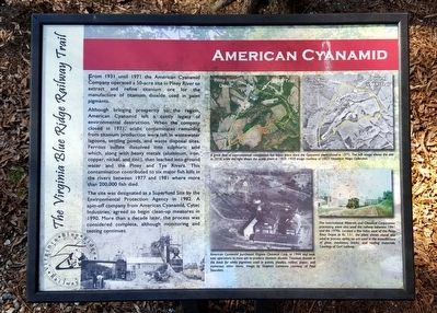 American Cyanamid Marker image. Click for full size.