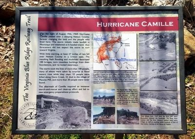 Hurricane Camille Marker image. Click for full size.