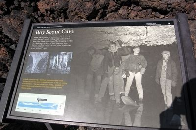 Boy Scout Cave Marker image. Click for full size.