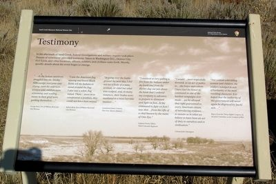 Testimony Marker image. Click for full size.