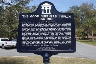 The Good Shepherd Church 1887-1966 Marker image. Click for full size.