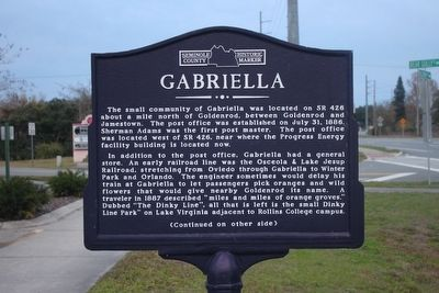 Gabriella Marker Side 1 image. Click for full size.