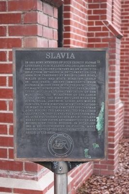 Slavia Marker image. Click for full size.