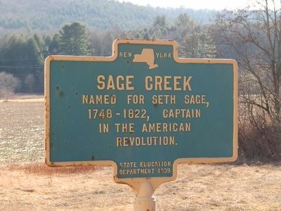 Sage Creek Marker image. Click for full size.