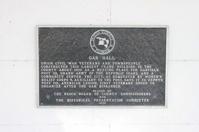 GAR Hall Marker image. Click for full size.