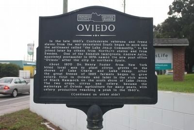 Oviedo Marker-Side 1 image. Click for full size.
