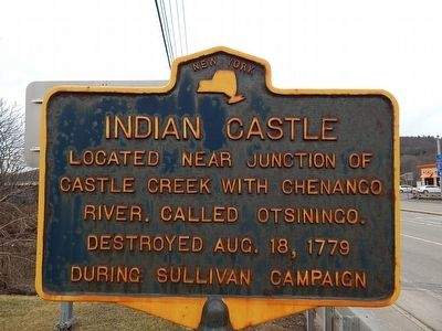 Indian Castle Marker image. Click for full size.