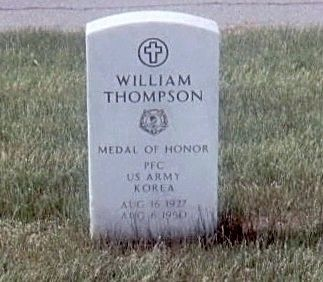 William Thompson-Korean War Medal of Honor Recipient image. Click for full size.