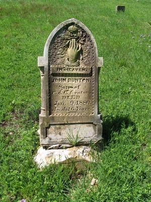 Antioch Community Cemetery image. Click for full size.