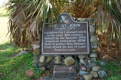 Fort St. John Marker image. Click for full size.