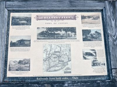 Collinsville- Railroad from both sides Marker image. Click for full size.