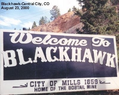 Welcome to Black Hawk image. Click for full size.