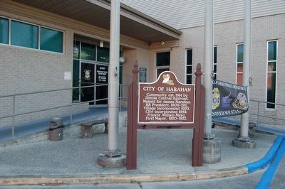 City Of Harahan Marker image. Click for full size.