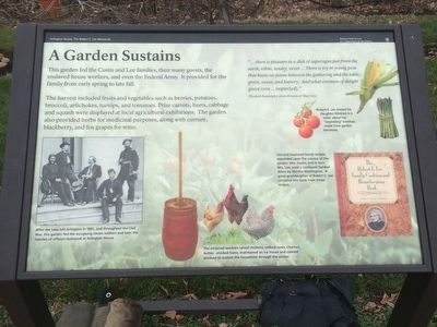 A Garden Sustains Marker image. Click for full size.
