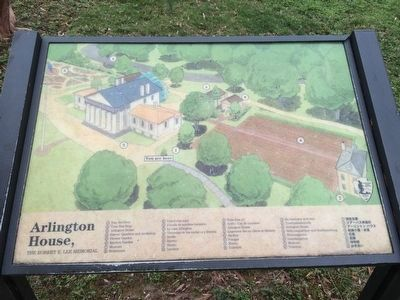 Nearby Arlington House map image. Click for full size.