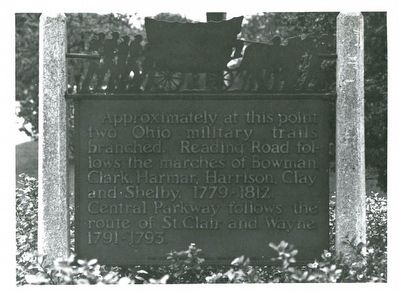 Ohio Military Trails Marker image. Click for more information.