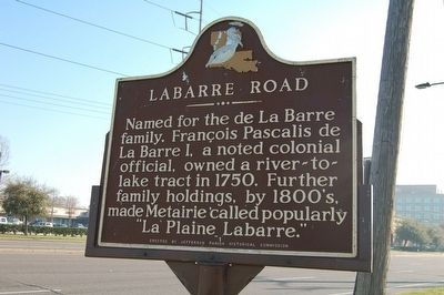 Labarre Road Marker image. Click for full size.
