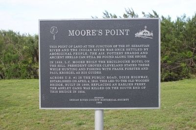 Moore's Point Marker image. Click for full size.