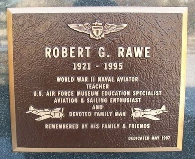 Robert G. Rawe Marker image. Click for full size.