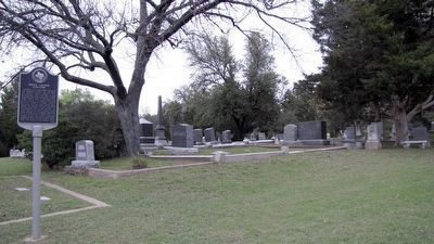 Mount Calvary Cemetery and Marker image. Click for full size.