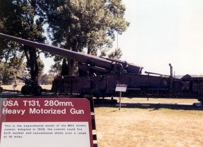 USA T131, 280mm, Heavy Motorized Gun image. Click for full size.