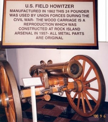 Inside the Rock Island Arsenal Musuem image. Click for full size.