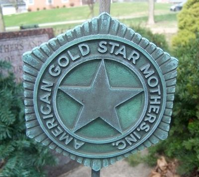 Gold Star Veterans Memorial Marker image. Click for full size.