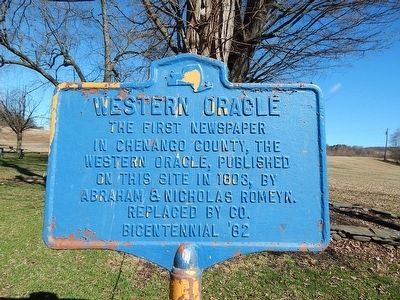Western Oracle Marker image. Click for full size.