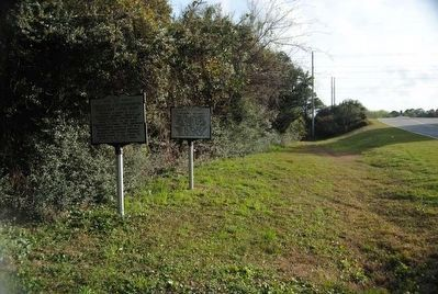 Charles Cotesworth Pinckney Marker (left) image. Click for full size.