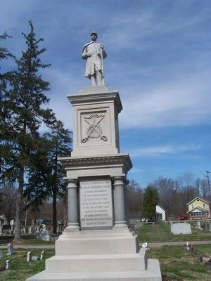 Darke County Civil War Monument image. Click for full size.