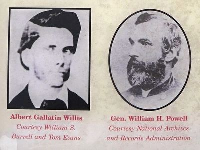 Albert Gallatin Willis and Gen. Powell image. Click for full size.