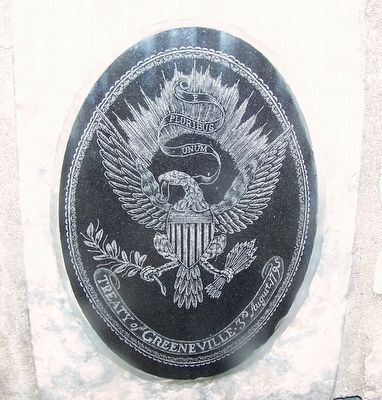 Treaty of Greene Ville Peace Medal Marker image. Click for full size.
