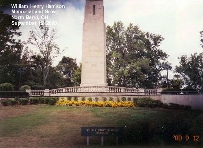 William Henry Harrison Memorial-Distant shot image. Click for full size.