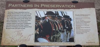 Partners in Preservation Marker image. Click for full size.