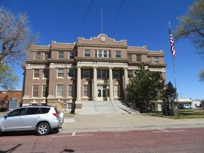 Dallam County Courthouse image. Click for full size.