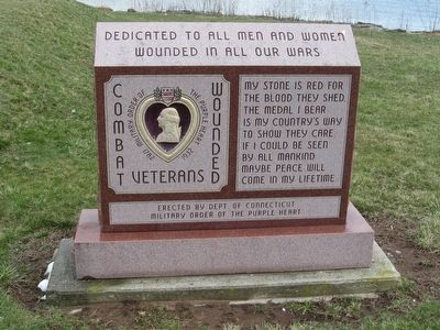 Combat Wounded Veterans Marker image. Click for full size.