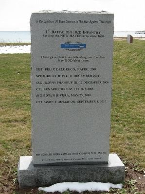 1st Battalion 102d Infantry Memorial image. Click for full size.