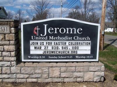 Jerome United Methodist Church image. Click for full size.