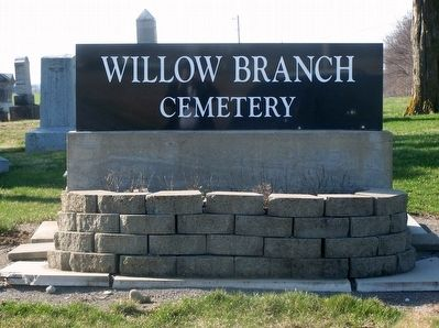 Willow Branch Veterans Memorial Marker image. Click for full size.